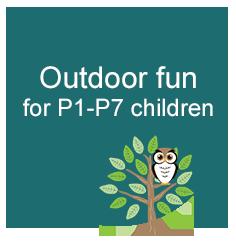 Outdoor fun for P1-P7 children
