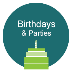 Birthdays and Parties